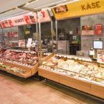 Eurospar-Ladenbau-Wurst-Kaese