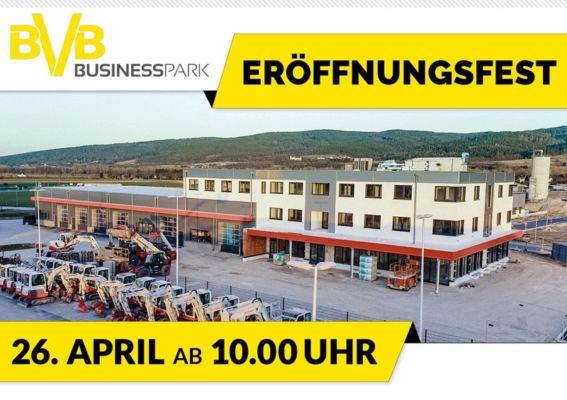 Foto: Eröffnung BVB Businesspark